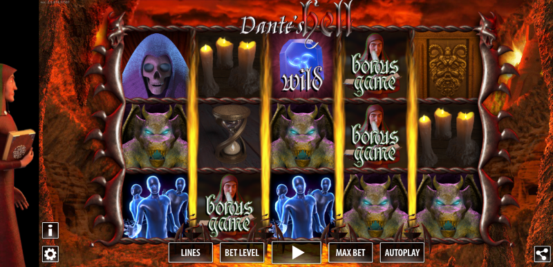 Escape from hellfire of Dante's Hell … if you can
