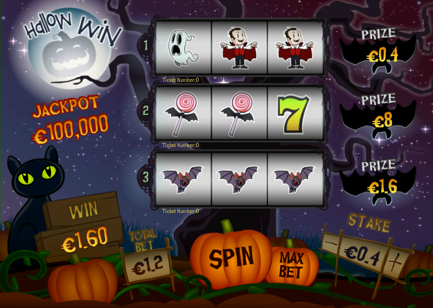 Celebrate Halloween any day of the year with Hallow Win slot