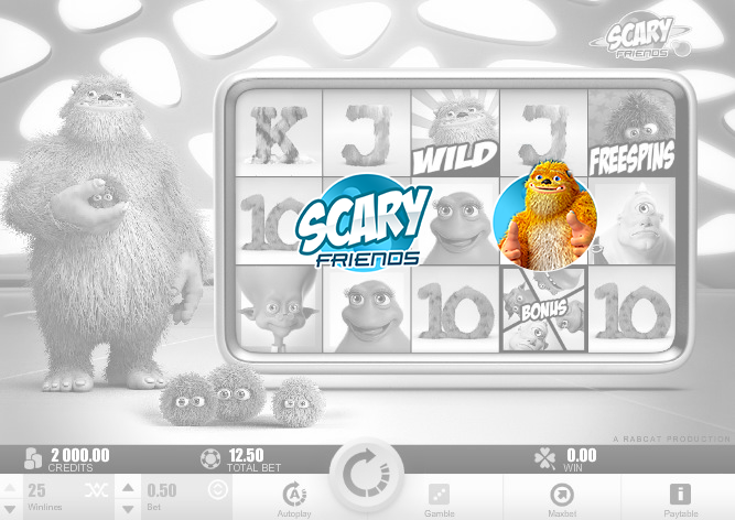 Nothing is spooky in Scary Friends slot