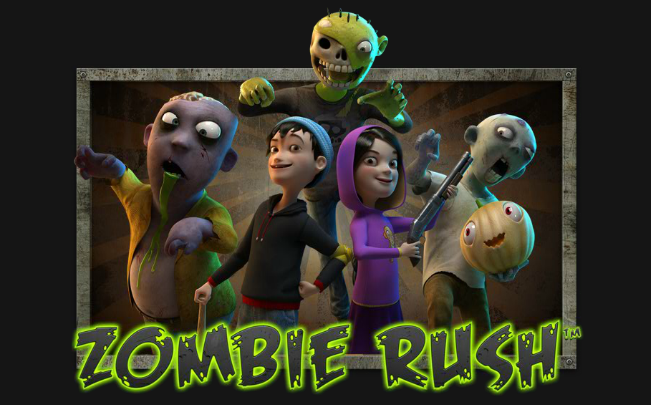 Escape from the zombie apocalypse of Zombie Rush slot