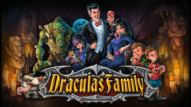 "Have a ""spook""tacular dinner with the Dracula's Family"
