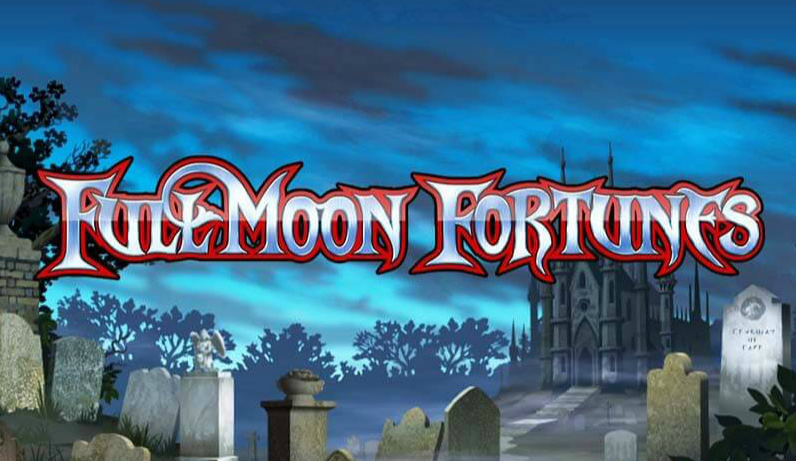 When the moon is high and wolf footsteps are seen, stay safe at home and play FullMoon Fortunes slot machine