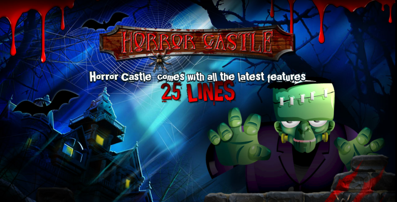 Zombies and monsters may lurk in the dark, Frankenstein and Dracula may even embark, but if you are ghoulish and ghostly wherever you're seen, I'm sure you will win at any Horror Castle slot spin!