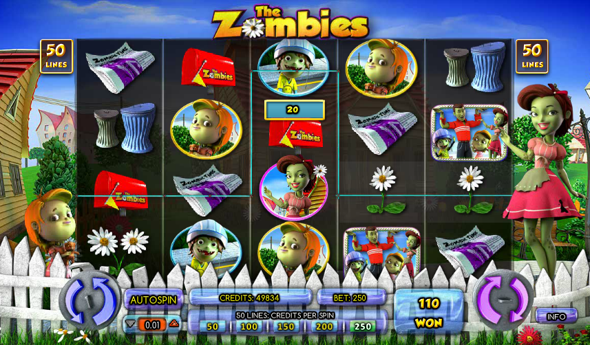 Help the good zombie family defeat the bad zombies in The Zombies