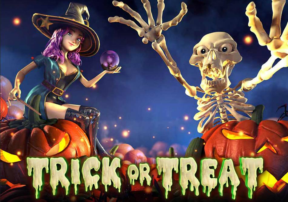 Black cats skitter and ghouls patter by, it's time to celebrate as Trick or Treat slot has arrived!