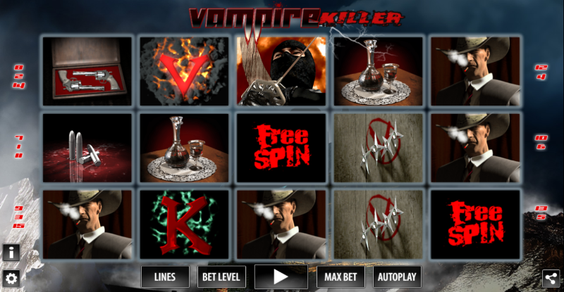 Vampire Killer slot is filled with such a wonderful fright, the type of fear that only comes with a terrible bite