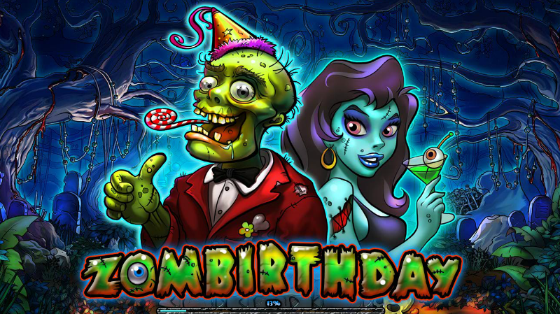 Let's party. It's my Zombirthday today.